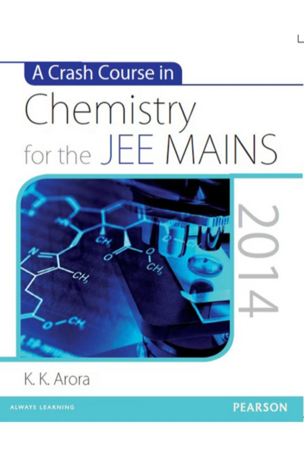 A Crash Course In Chemistry For The Jee Mains (PB) BooksInn Shop Pakistan