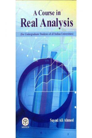 A Course In Real Analysis (PB) BooksInn Shop Pakistan