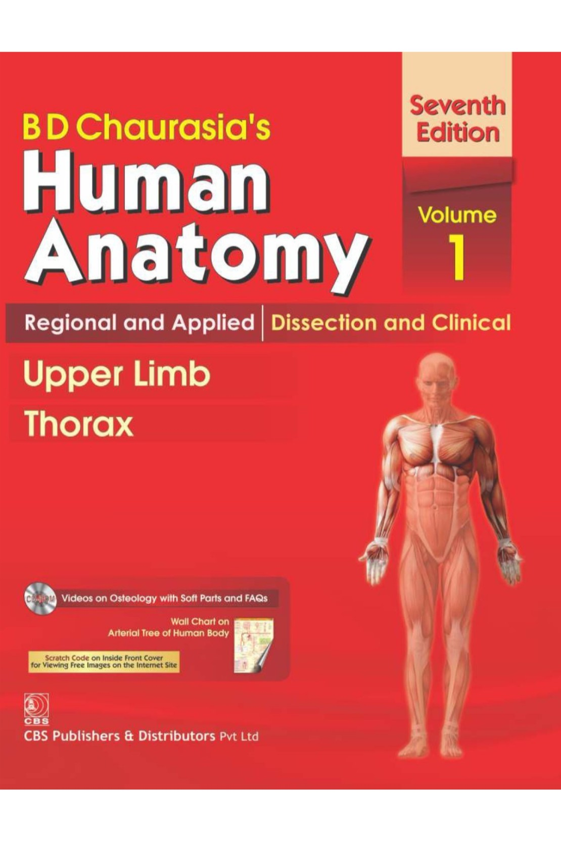 B D Chaurasia\'S Human Anatomy Regional And Applied: Dissection And ...