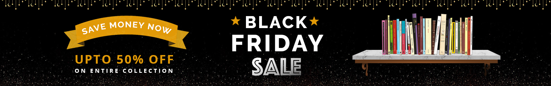 Page Header Banner - Black Friday Books for sale